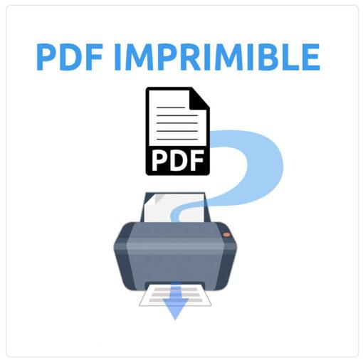 pdf imprimible